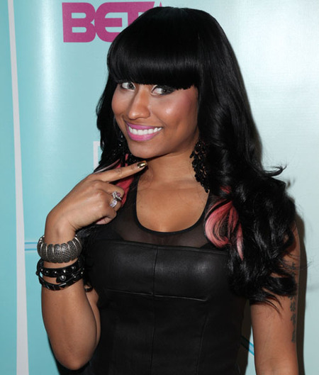 Nicki Minaj at 2010 BET Hip Hop Awards