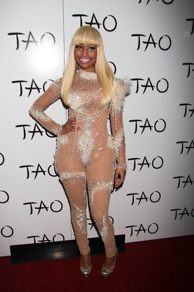 Nicki Minaj Celebrates in Vegas