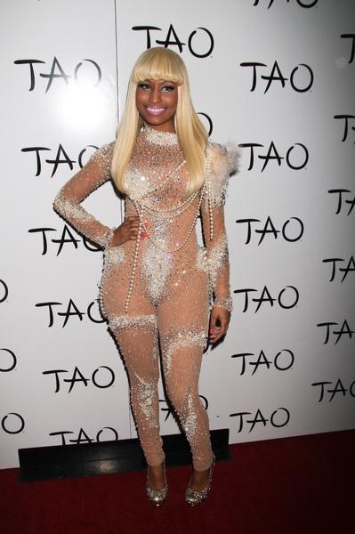 Nicki Minaj Celebrates in Vegas