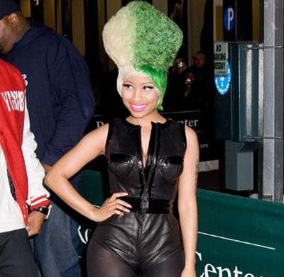 Nicki Minaj's Hair