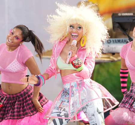 Nicki Minaj Wardrobe Malfunction