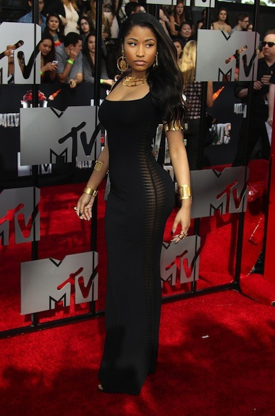 Nicki Minaj looking fierce