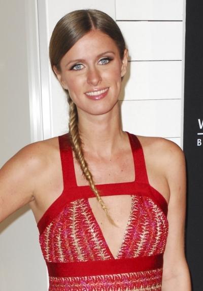 Nicky Hilton's Fishtail Side Braid