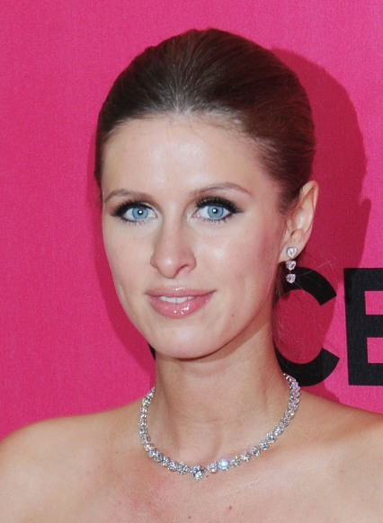 Nicky Hilton's dramatic, updo hairstyle