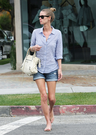 Thin Nicky Hilton seen out and about in Beverly Hills