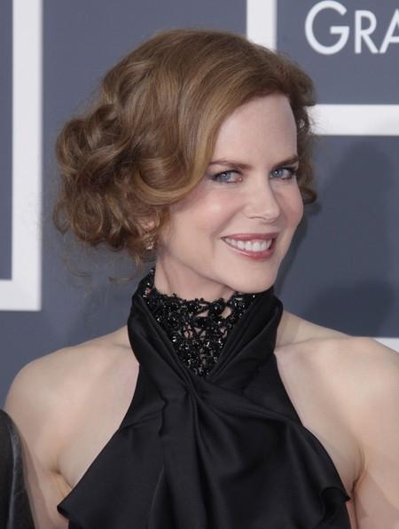 Nicole Kidman's Curly Chignon