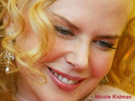 Nicole Kidman close-up