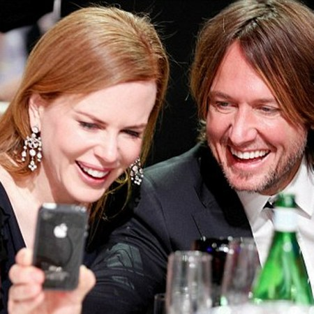 Nicole Kidman and Keith Urban happy