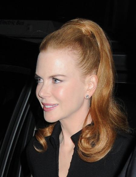 Nicole Kidman's Peek-a-boo Pony