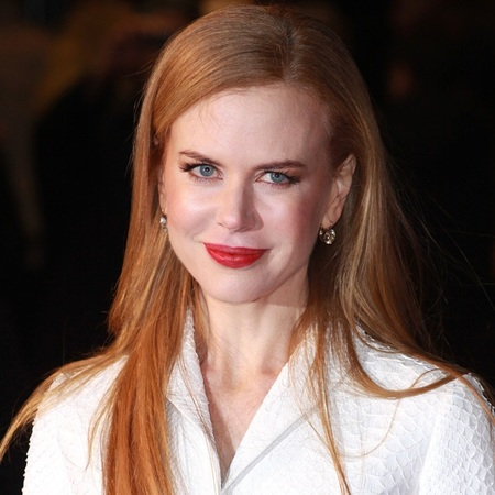 Nicole Kidman red lips
