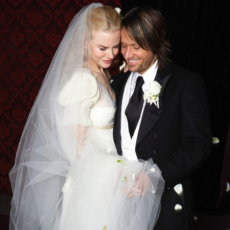 Nicole Kidman and Keith Urban wedding