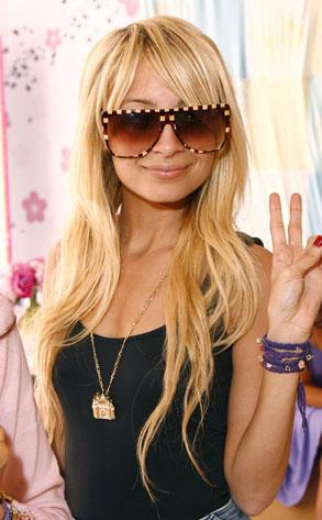 Peaceful Nicole Richie