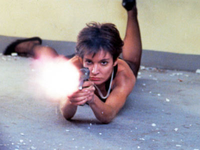Anne Parillaud in La Femme Nikita