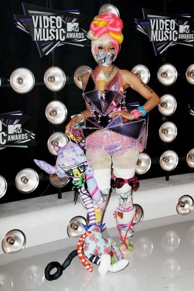 Nikki Minaj at the 2011 MTV Video Music Awards in LA