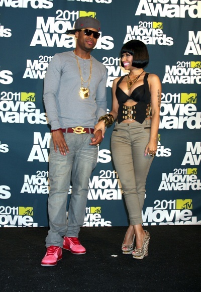 Nikki Minaj at the 2011 MTV Video Music Awards in LA