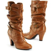 No Boundaries Buckled Boots