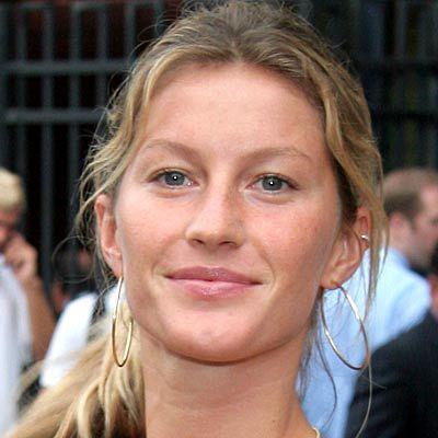 Gisele Bundchen without makeup