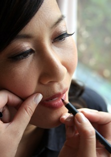Step 3: Line lips with a nude liner