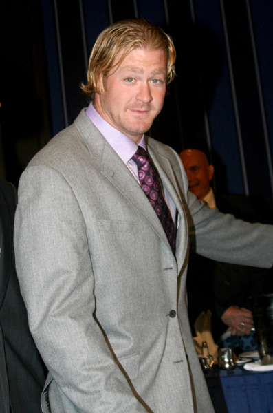 Jeremy Shockey looks surprised