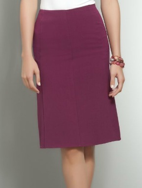 Flared Back Pencil Skirt