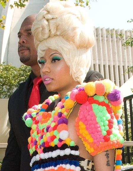 Nicki Minaj Crazy Hairstyles