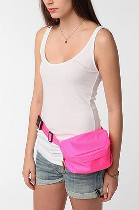 Get in touch with your retro side with this nylon fanny pack from Urban Outfitters.
