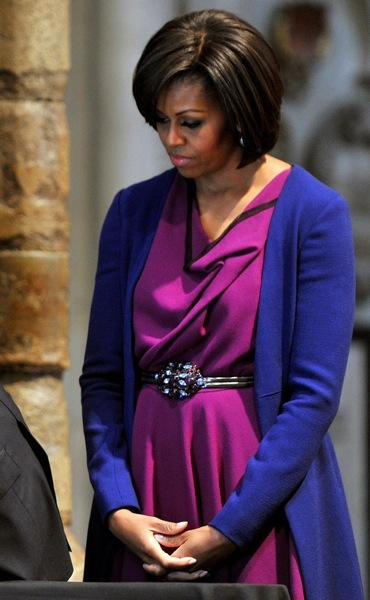 Michelle Obama's colorful style