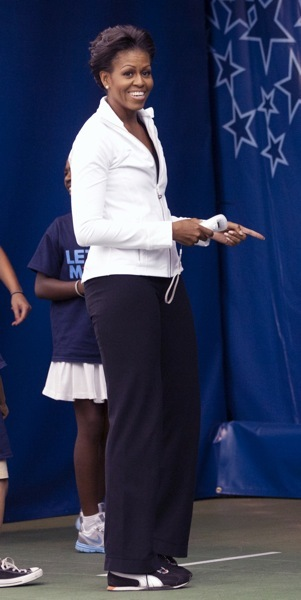 Michelle Obama&#039;s sporty style