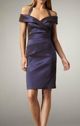 Off-shoulder elegance