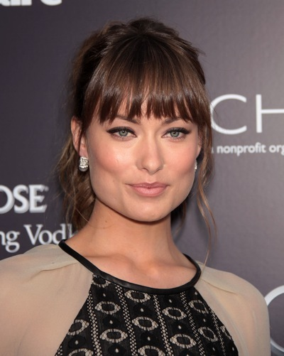 Olivia Wilde with long beach waves