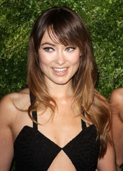 Olivia Wilde with nude lips
