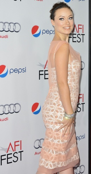 Olivia Wilde in lace