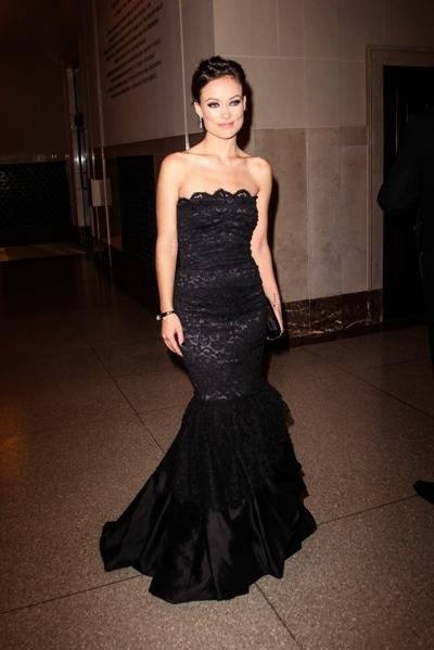 Olivia Wilde lace dress