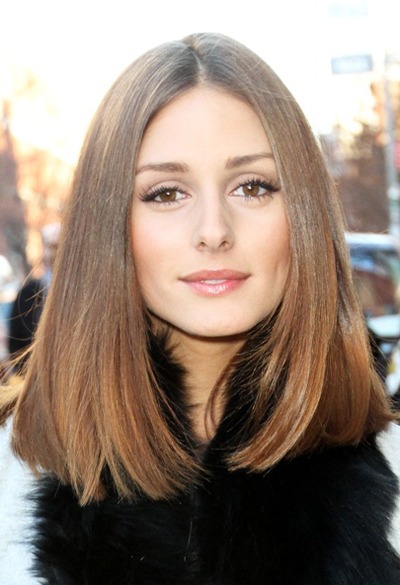 Olivia Palermo's Fashion Week hairstyle