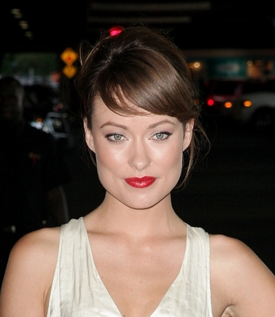 Olivia Wilde's Sweeping Bangs