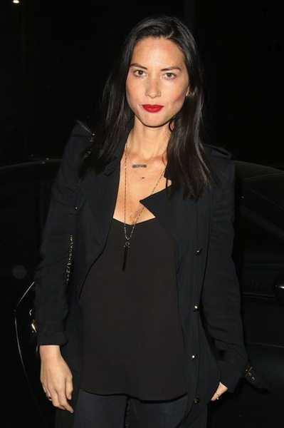 Olivia Munn's rebel outfit