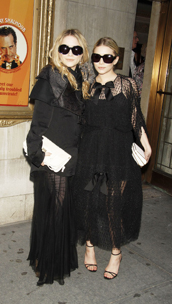 Twins in black