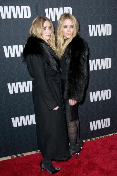 The Olsen Twins love their fur