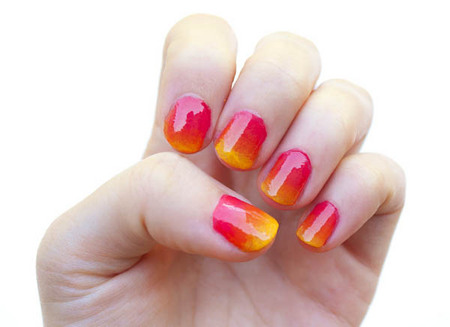 Home Gallery Design on Ombre Nail Art   Cool Nail Designs