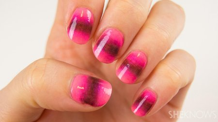A new way to ombre your nails