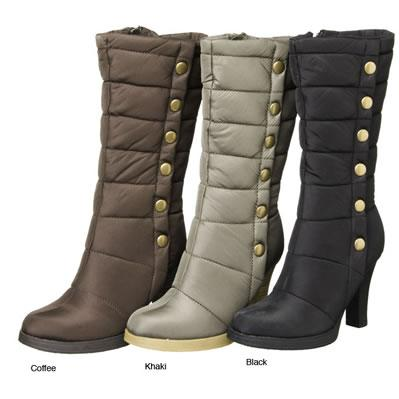 On Your Feet Tizzi Button Detail Boots