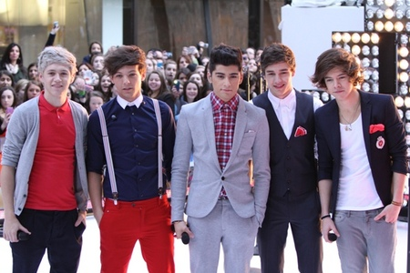 One Direction perform on the Today show