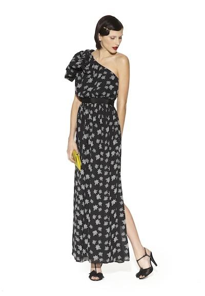 Sophisticated one shoulder dress
