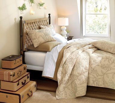 Go Green - Bedroom decorating ideas