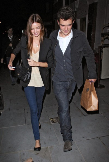 Orlando Bloom & Miranda Kerr Announce Engagement