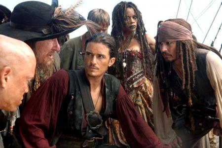 Orlando Bloom pirates johnny