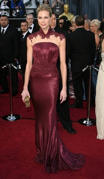 Brooke Burns on The Red Carpet
