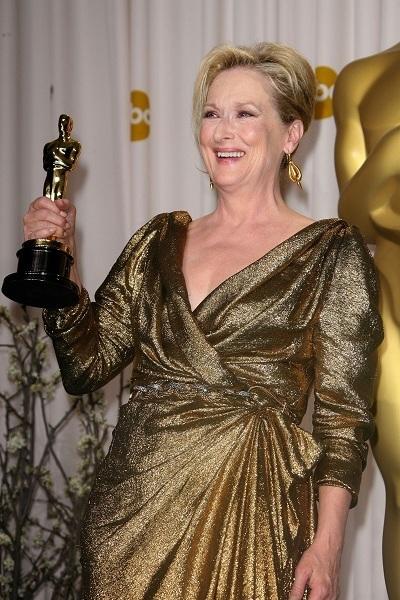 Meryl Streep wins Oscar