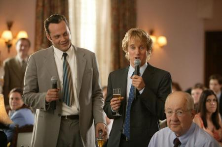 Owen Wilson takes the microphone
