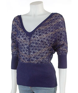 Simply Flawless V-Neck Dolman Sleeve Sweater
